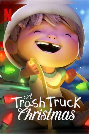 Poster: A Trash Truck Christmas