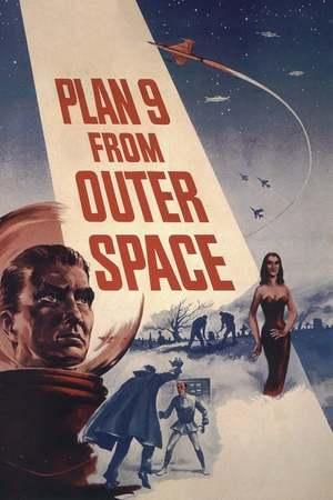 Poster: Plan 9 aus dem Weltall