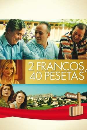 Poster: 2 francos, 40 pesetas