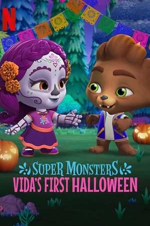 Poster: Die Supermonster - Vidas erstes Halloween