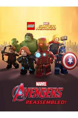 Poster: LEGO Marvel Superhelden - Avengers neu montiert!